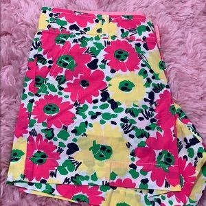 NWT Floral & Ladybug Print Lilly Pulitzer Shorts